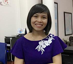 Ms. Hoang Thi Thuy Hang, Director of Manufacturing